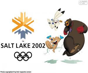 puzzel Olympische spelen van 2002 Salt Lake City