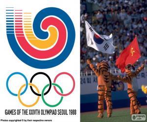 puzzel Olympische spelen van Seoel 1988