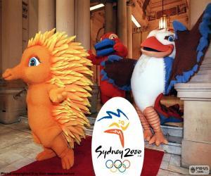 puzzel Olympische spelen van Sydney 2000