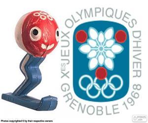 puzzel Olympische Winterspelen 1968