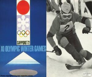 puzzel Olympische Winterspelen 1972