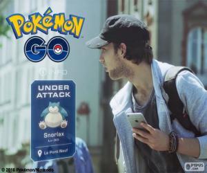 puzzel Onder aanval, Pokémon GO