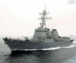 puzzel Oorlogsschip, torpedojager