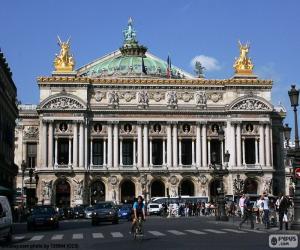 puzzel Opéra Garnier, gevel