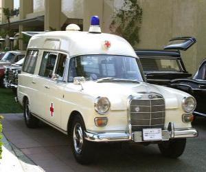 puzzel oude ambulance