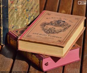 puzzel Oude boeken