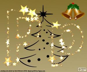 puzzel P een kerst-letter