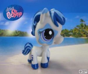 puzzel Paard van de kleinste PetShop