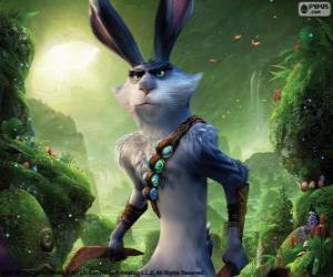 puzzel PAASHAAS, Pasen konijn. Karakter van de De Vijf Legendes