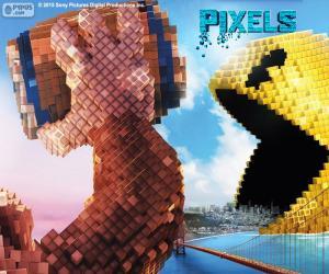 puzzel Pac-Man en Donkey Kong
