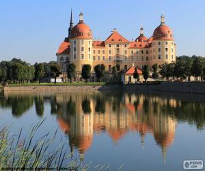 puzzel Paleis van Moritzburg, Duitsland