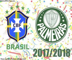 puzzel Palmeiras, Braziliaans kampioen 2018