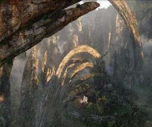 puzzel Pandora, een planeet van na'vi