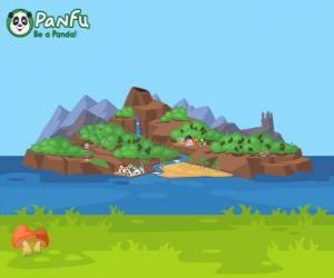 puzzel Panfu eiland