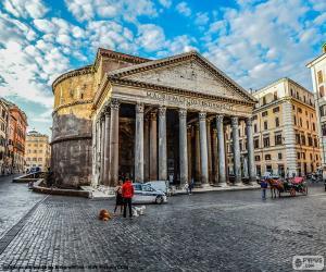 puzzel Pantheon, Rome