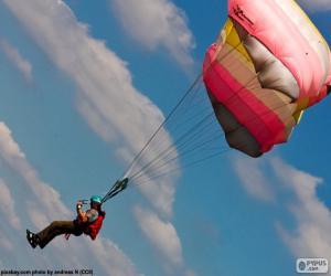 puzzel Parachutespringen