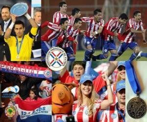 puzzel Paraguay, 2 e plaats 2011 Copa America