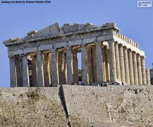 puzzel Parthenon, Griekenland