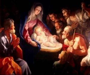 puzzel Pastors aanbidden van Jezus