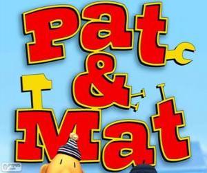 puzzel Pat en Mat Logo