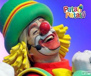puzzel Patatá, een van de clowns van Patatí Patatá