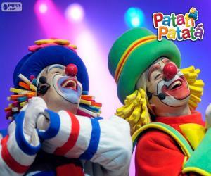 puzzel Patati en Patata in een performance