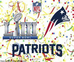 puzzel Patriots, Super Bowl 2019