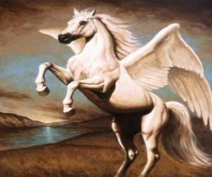 puzzel Pegasus - De gevleugelde paard