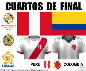 puzzel PER - COL, Copa America 2016