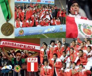 puzzel Peru, Copa America 2011 3e plaats