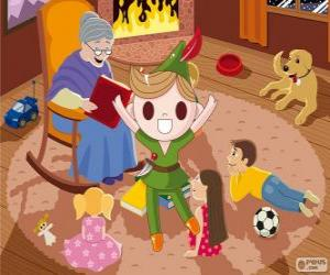 puzzel Peter Pan woont in Nooitgedachtland