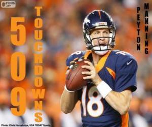 puzzel Peyton Manning 509 touchdowns