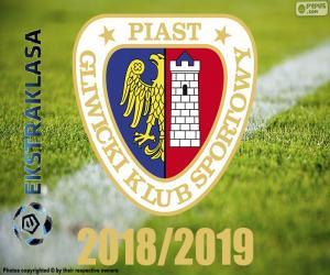 puzzel Piast Gliwice, kampioen 2018-2019