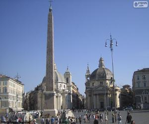 puzzel Piazza del Popolo, Rome