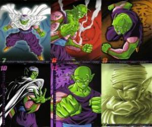 puzzel Piccolo Piccolo monster Daimao zoon, geboren wraak te nemen op Goku. Het komt van de planeet Namek. Het is de eerste leraar van Son Gohan.