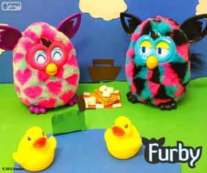 puzzel Picknick Furby