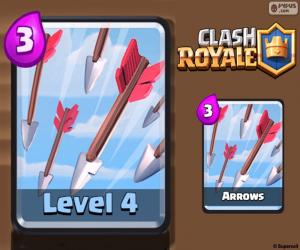 puzzel Pijlen van Clash Royale