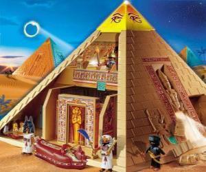 puzzel Piramide van Egypte Playmobil