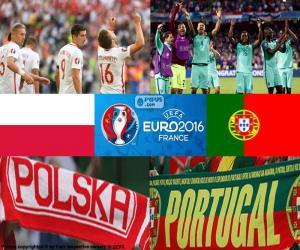 puzzel PL-PT, kwartfinale Euro 2016