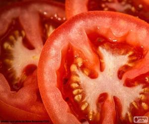 puzzel Plakjes tomaat
