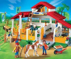 puzzel Playmobil boerderij