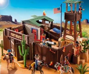 puzzel Playmobil Fort