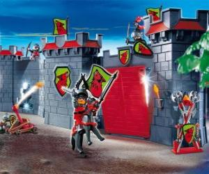 puzzel Playmobil kasteel