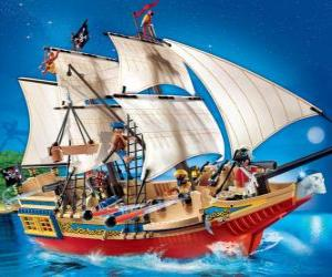 puzzel Playmobil piratenschip