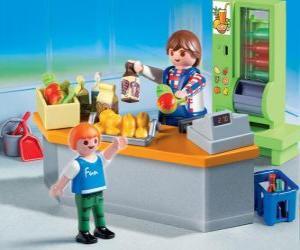 puzzel Playmobil winkel