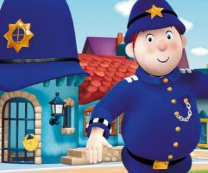 puzzel Ploeteren heer is de politieman van de Speelgoedstad