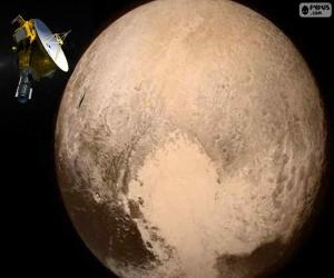 puzzel Pluto en New Horizons