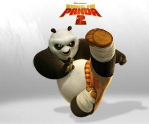 puzzel Po is de hoofdrolspeler van de avonturen van de film Kung Fu Panda 2