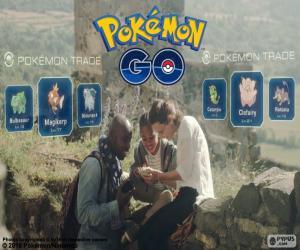 puzzel Pokémon GO swap