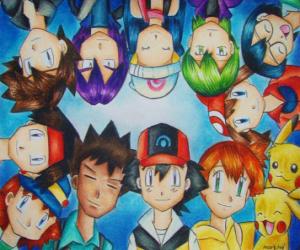 puzzel Pokemon Characters